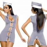 Stewardess jelmez szexi ruha